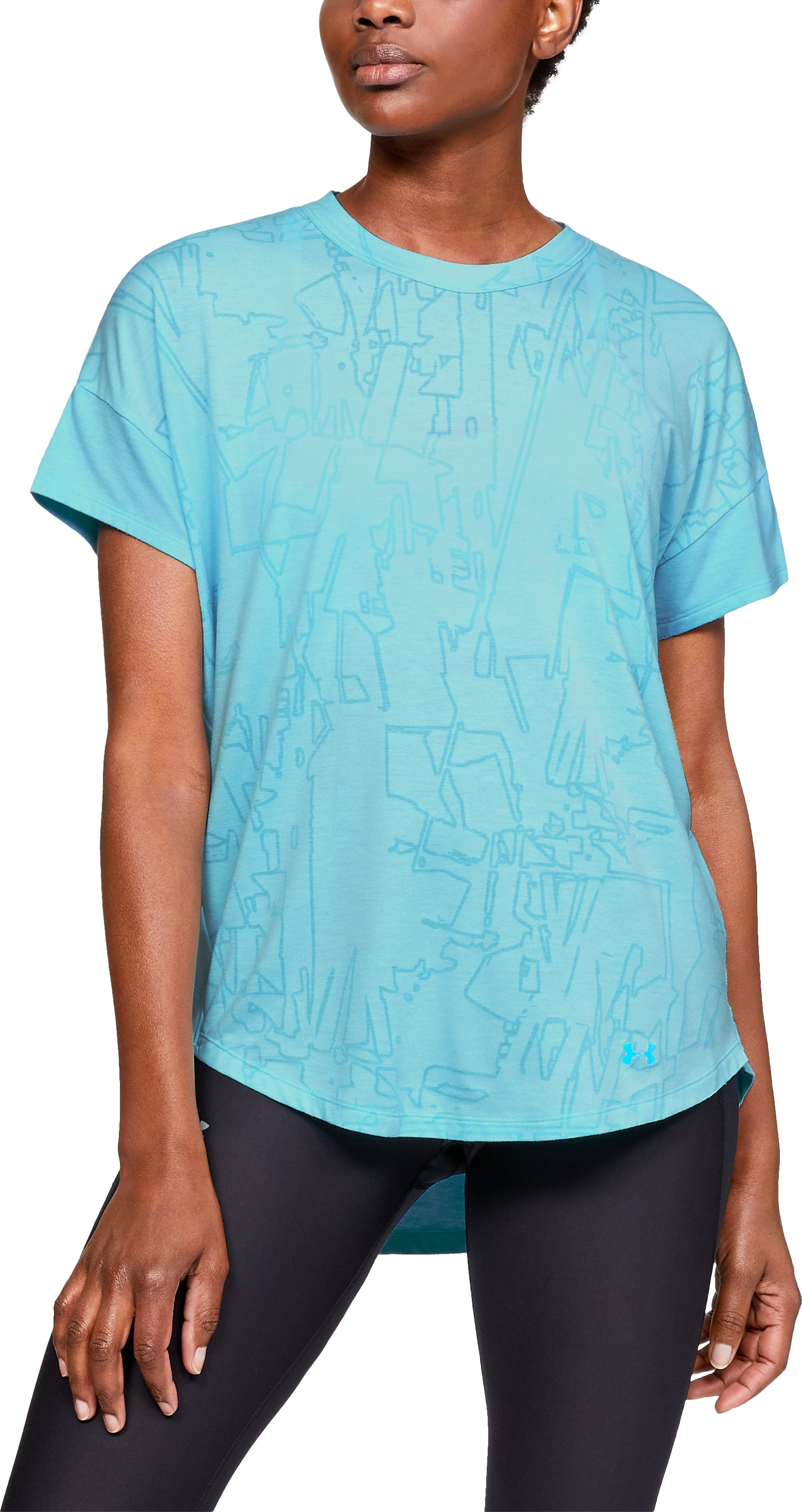 Women's UA Essentials Short Sleeve, Venetian Blue