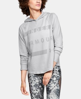 New Arrival Women's UA Pindot Hoodie-Graphic FREE U.S. SHIPPING 6  Colors Available $45