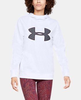 Women's Armour Fleece® Big Logo Hoodie 30% OFF ENDS 11/26 1  Color Available $38.5