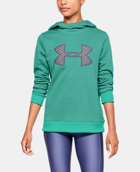 Women's Armour Fleece® Big Logo Hoodie  2  Colors Available $55