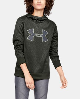 Women's Armour Fleece® Big Logo Hoodie  1  Color Available $70