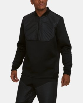 New to Outlet  Men's UA Unstoppable GORE® WINDSTOPPER® ½ Zip  1  Color Available $71.99
