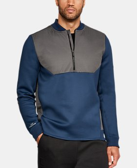 New Arrival  Men's UA Unstoppable GORE® WINDSTOPPER® ½ Zip  2 Colors $119.99