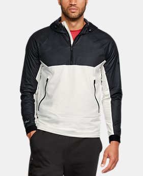 New Arrival  Men's UA Unstoppable GORE® WINDSTOPPER® ½ Zip Windbreaker  1 Color $119.99