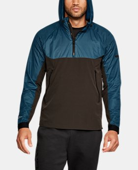Men's UA Unstoppable GORE® WINDSTOPPER® ½ Zip Windbreaker  2 Colors $119.99