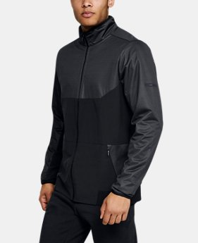 Men's UA Unstoppable GORE® WINDSTOPPER®  Wind Jacket  1  Color Available $119.99