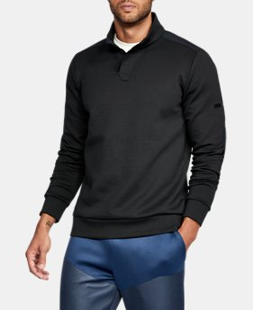 Men's UA Unstoppable Knit Henley  3  Colors Available $38.99