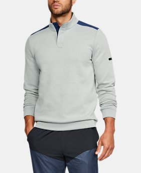 New Arrival Men's UA Unstoppable Knit Henley  1 Color $64.99