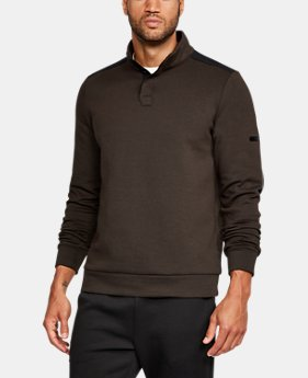 Men's UA Unstoppable Knit Henley  1 Color $44.99