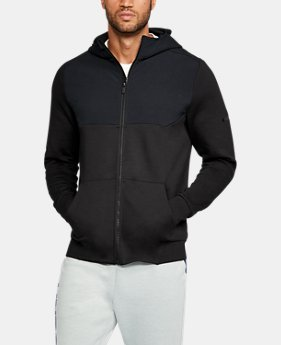 New Arrival  Men's UA Unstoppable Knit Full Zip Hoodie  3 Colors $74.99