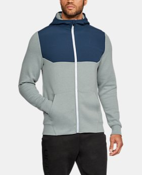 Men's UA Unstoppable Knit Full Zip Hoodie  1 Color $74.99