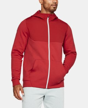 Men's UA Unstoppable Knit Full Zip Hoodie  1 Color $59.99 to $79.99