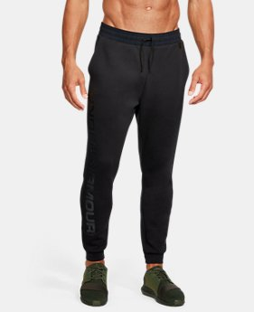 Men's UA Unstoppable Knit Jogger  1  Color Available $45 to $56.25