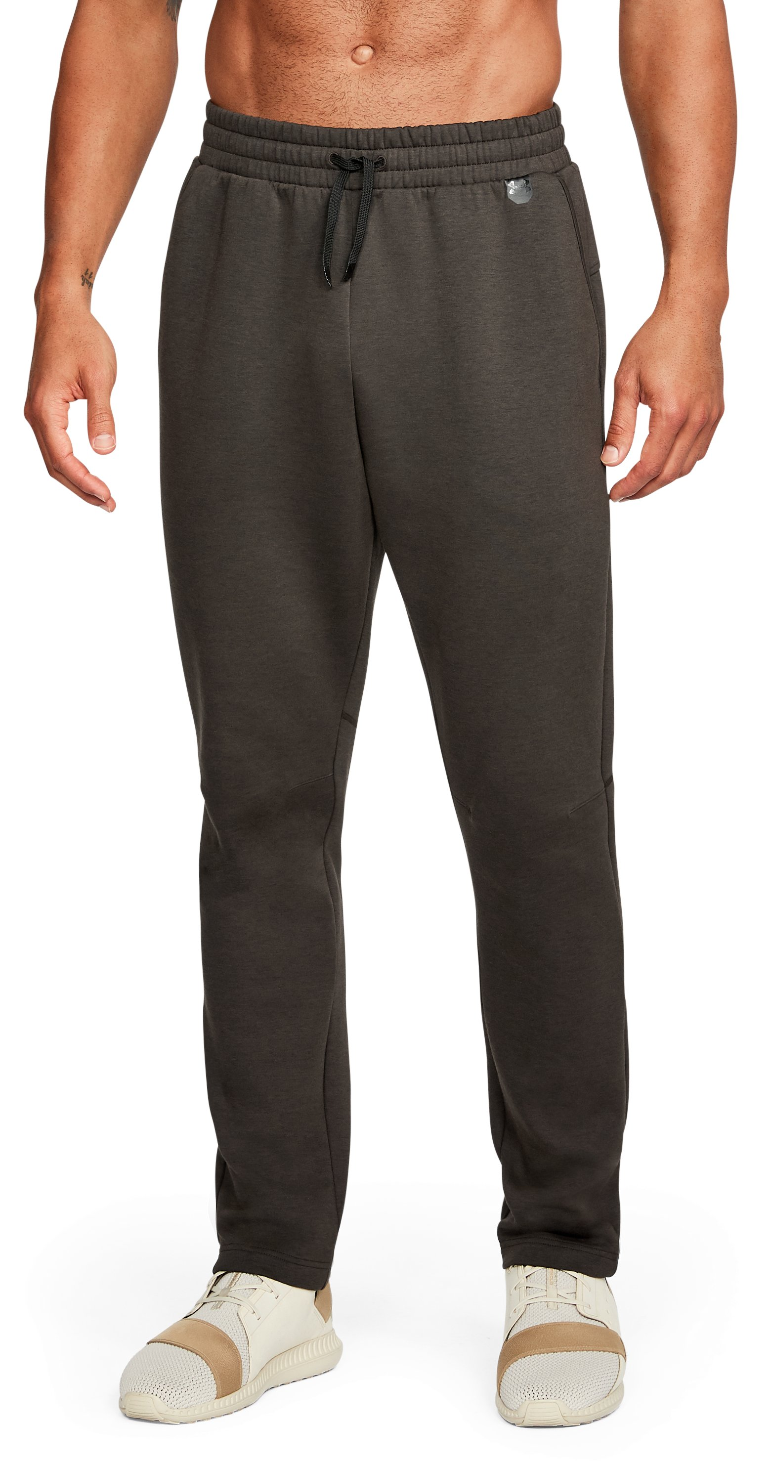 Men's UA Unstoppable Knit Pants, CHESTNUT BROWN