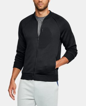 New Arrival  Men's UA Unstoppable Textured Jacket  1 Color $99.99