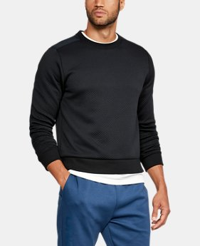 Men's UA Unstoppable Textured Crew  4 Colors $69.99