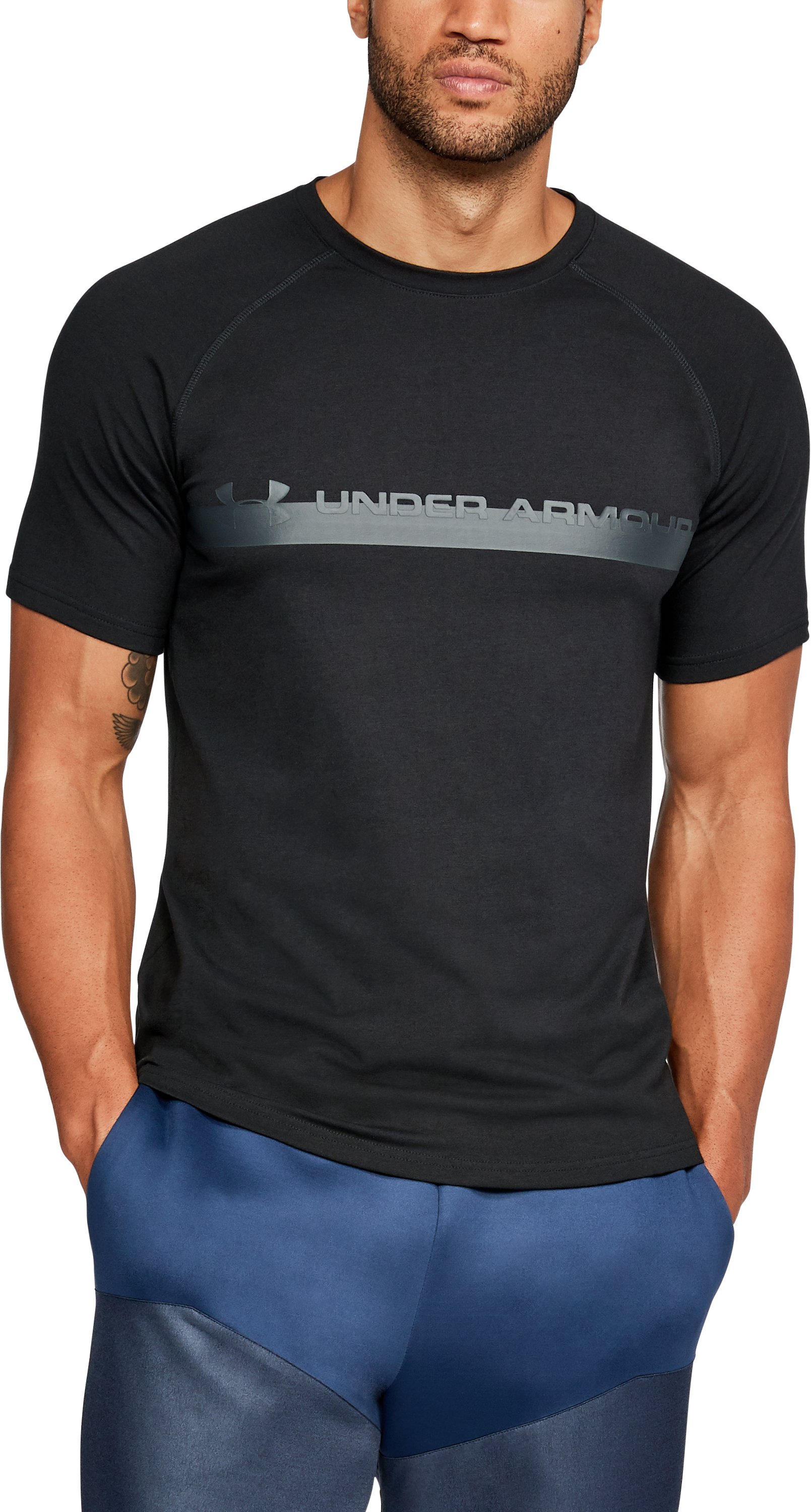 kids graphic t-shirts  Men's UA Unstoppable Graphic T-Shirt Length is a tad long        Love UA....Soft and comfortable....Good looking shirt by Under Armour.