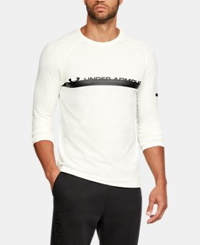 New Arrival   Men's UA Unstoppable ¾ Sleeve T-Shirt  3 Colors $45