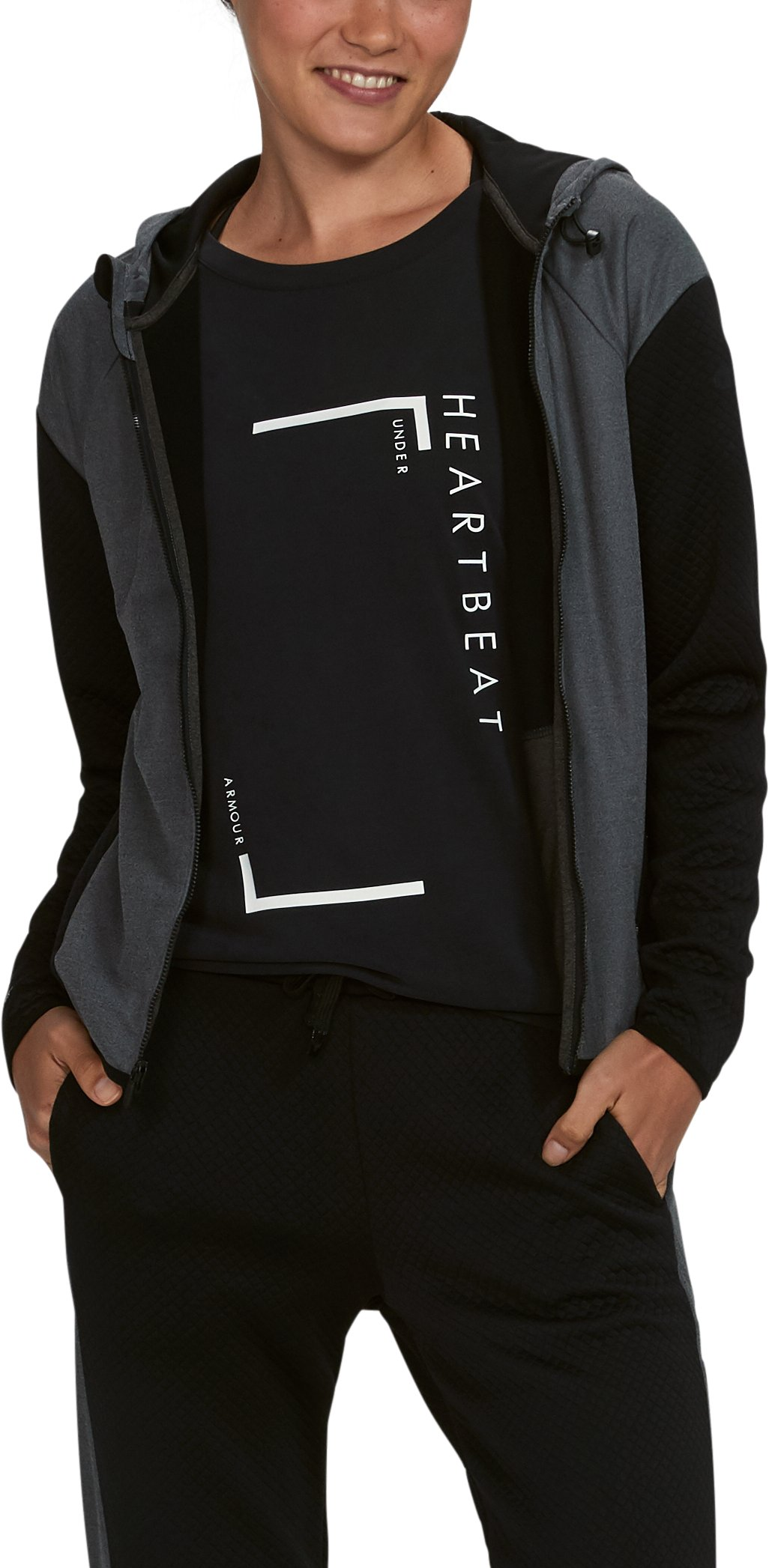 Women's Unstoppable GORE® WINDSTOPPER® Hoodie, Black ,