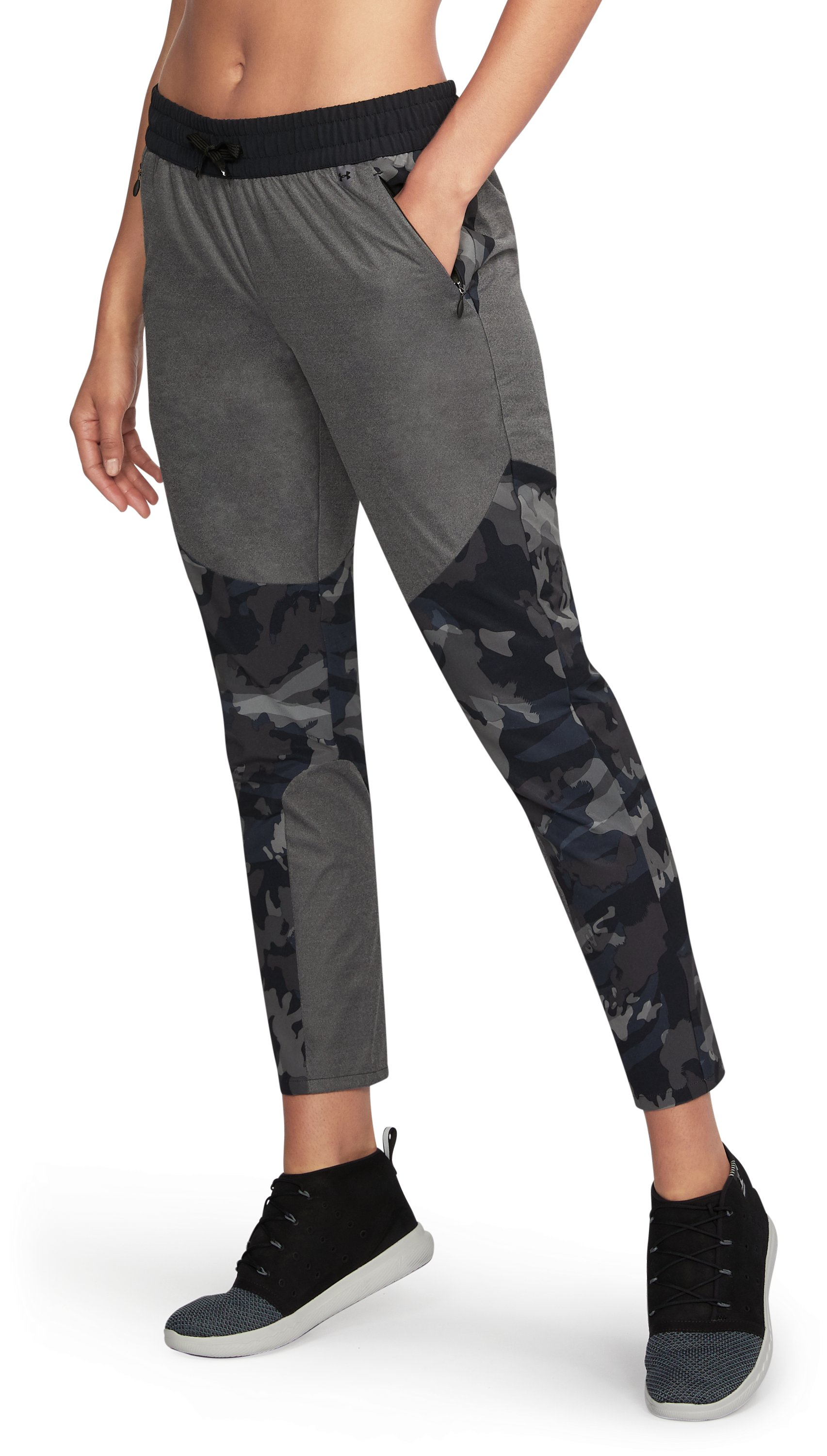 Women's UA Unstoppable GORE® WINDSTOPPER® Pants, Black