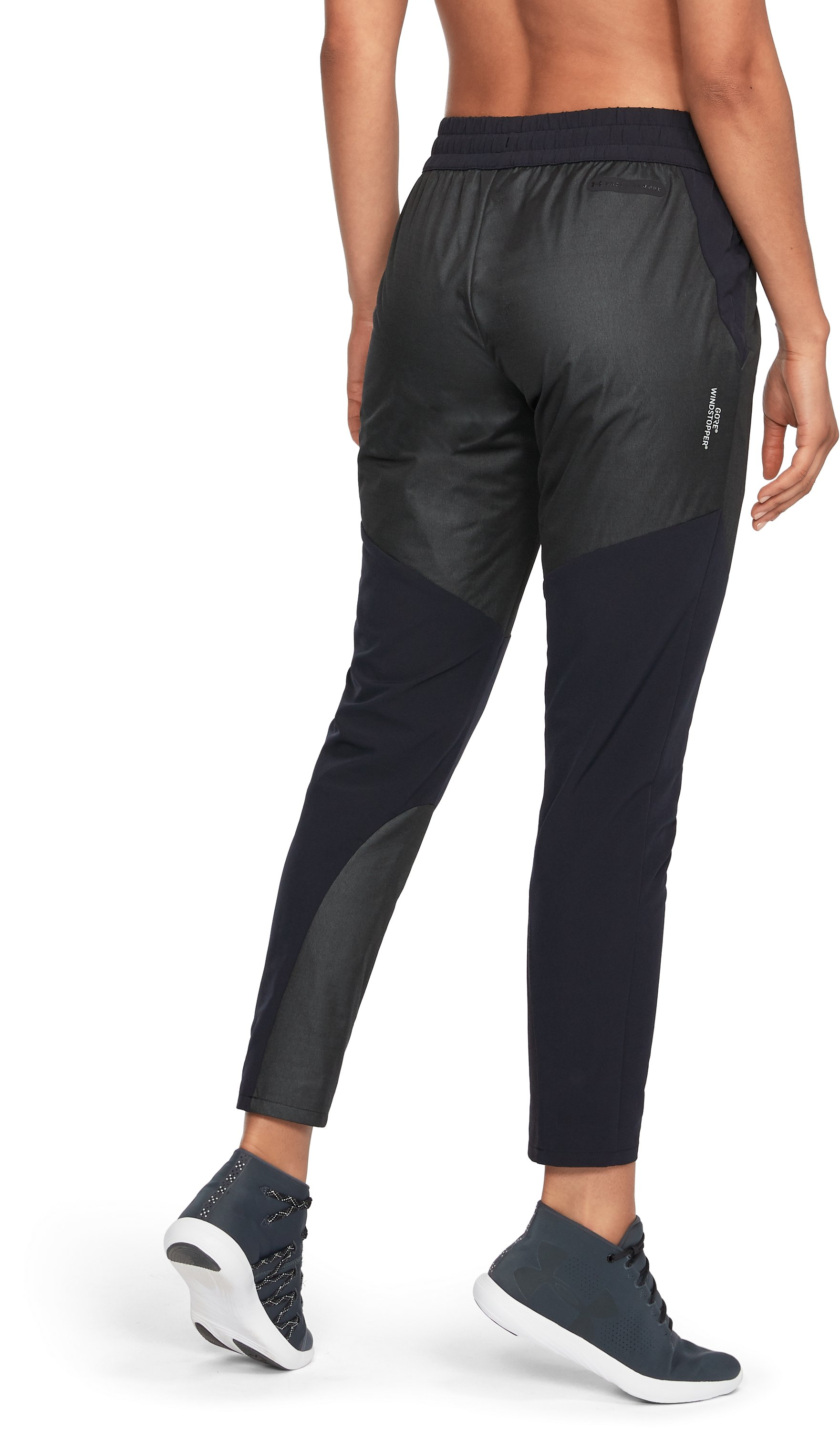 Women's UA Unstoppable GORE® WINDSTOPPER® Pants, True Gray Heather,