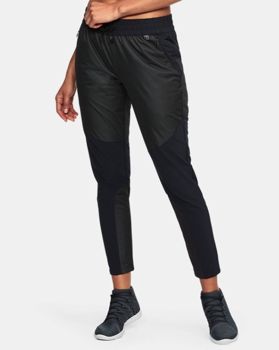 Women's UA Unstoppable GORE® WINDSTOPPER® Pants, Gray, pdpMainDesktop image number 0