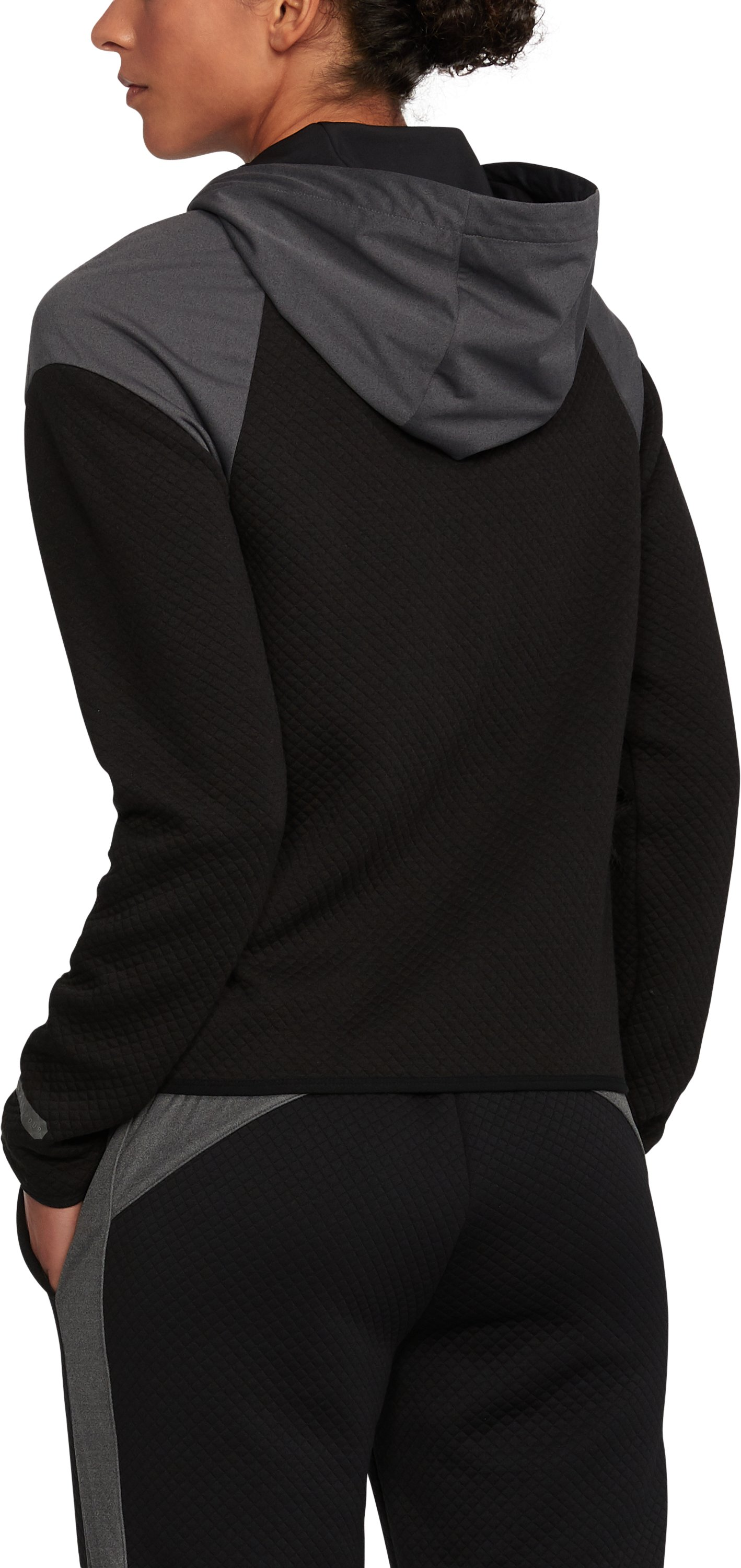 Women's UA Unstoppable GORE® WINDSTOPPER® Fleece, Black ,