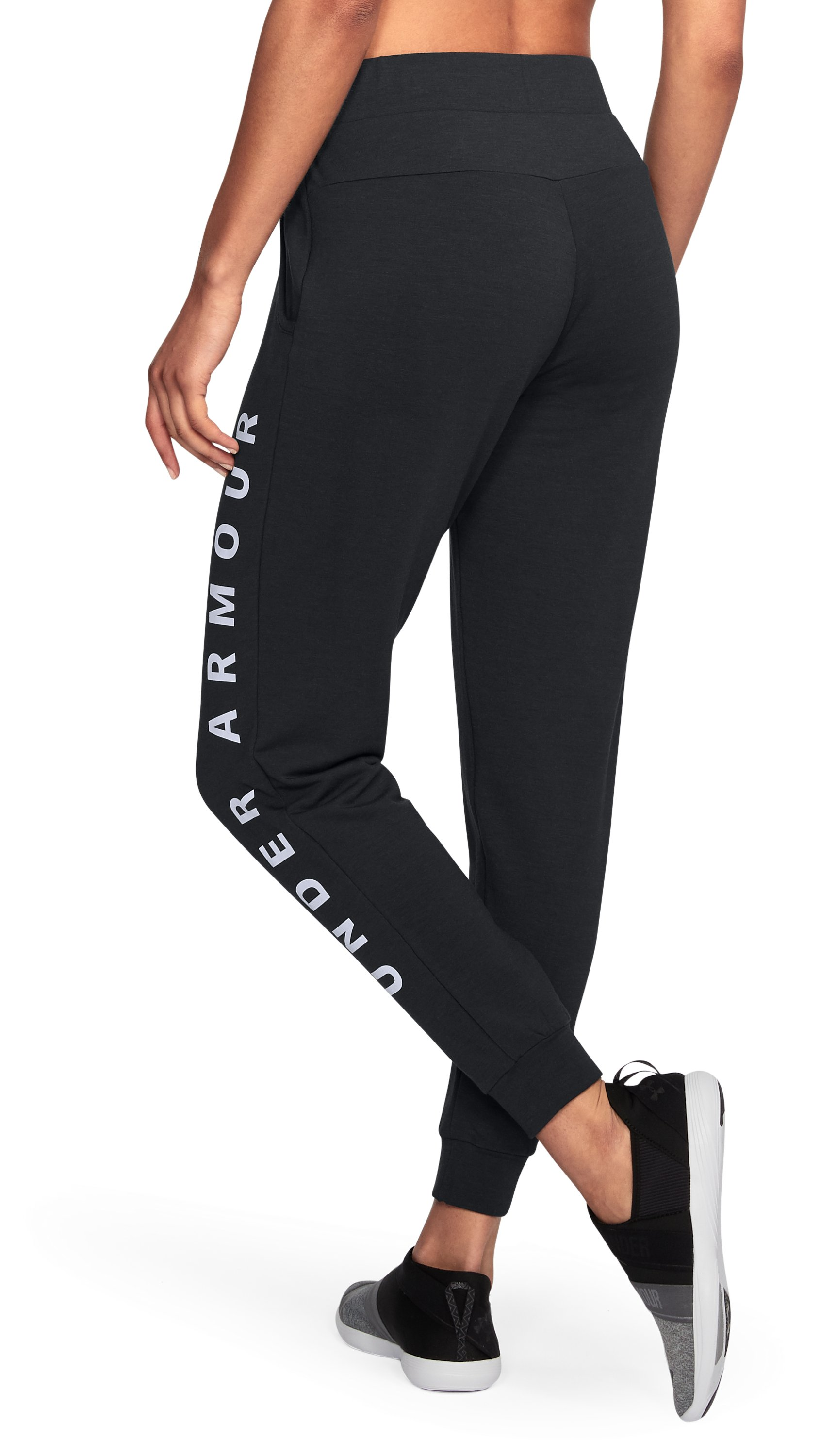 Women's UA Unstoppable To/From Joggers, Black ,