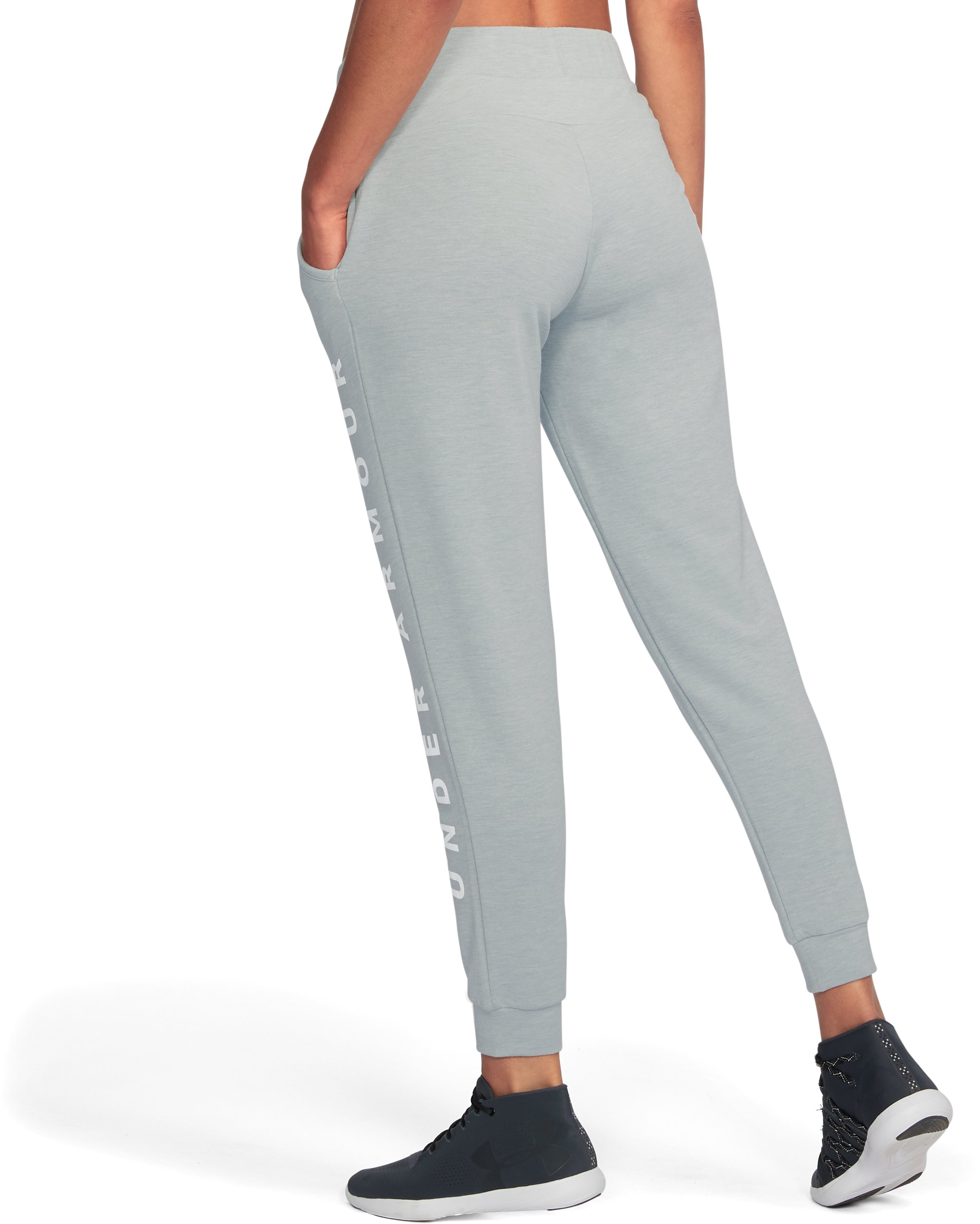 Women's UA Unstoppable To/From Joggers, True Gray Heather, undefined