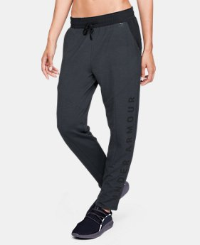 New Arrival Women's UA Unstoppable World's Greatest Knit Sweat Pants  1 Color $59.99