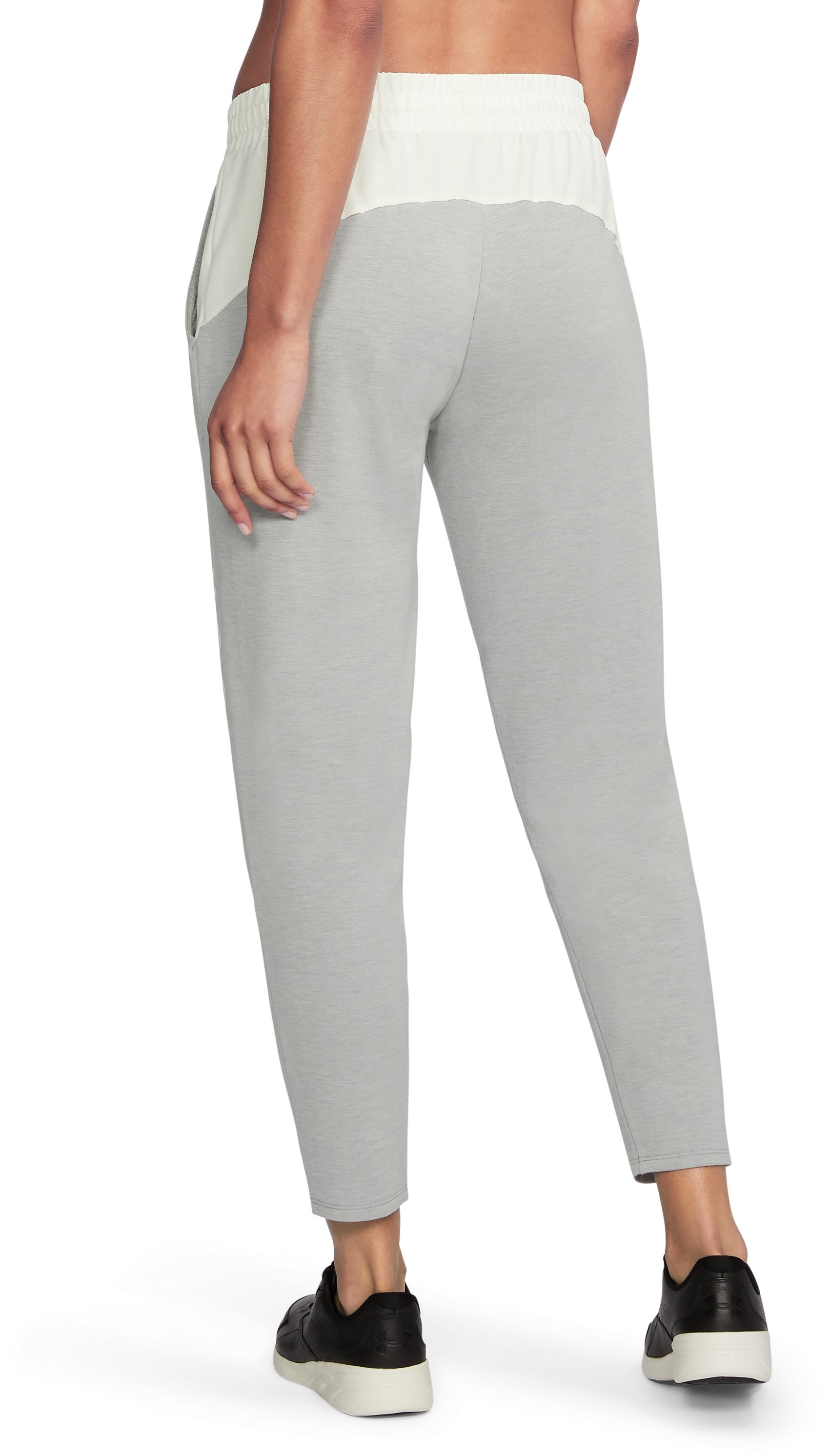 Women's UA Unstoppable World's Greatest Knit Sweat Pants, True Gray Heather,