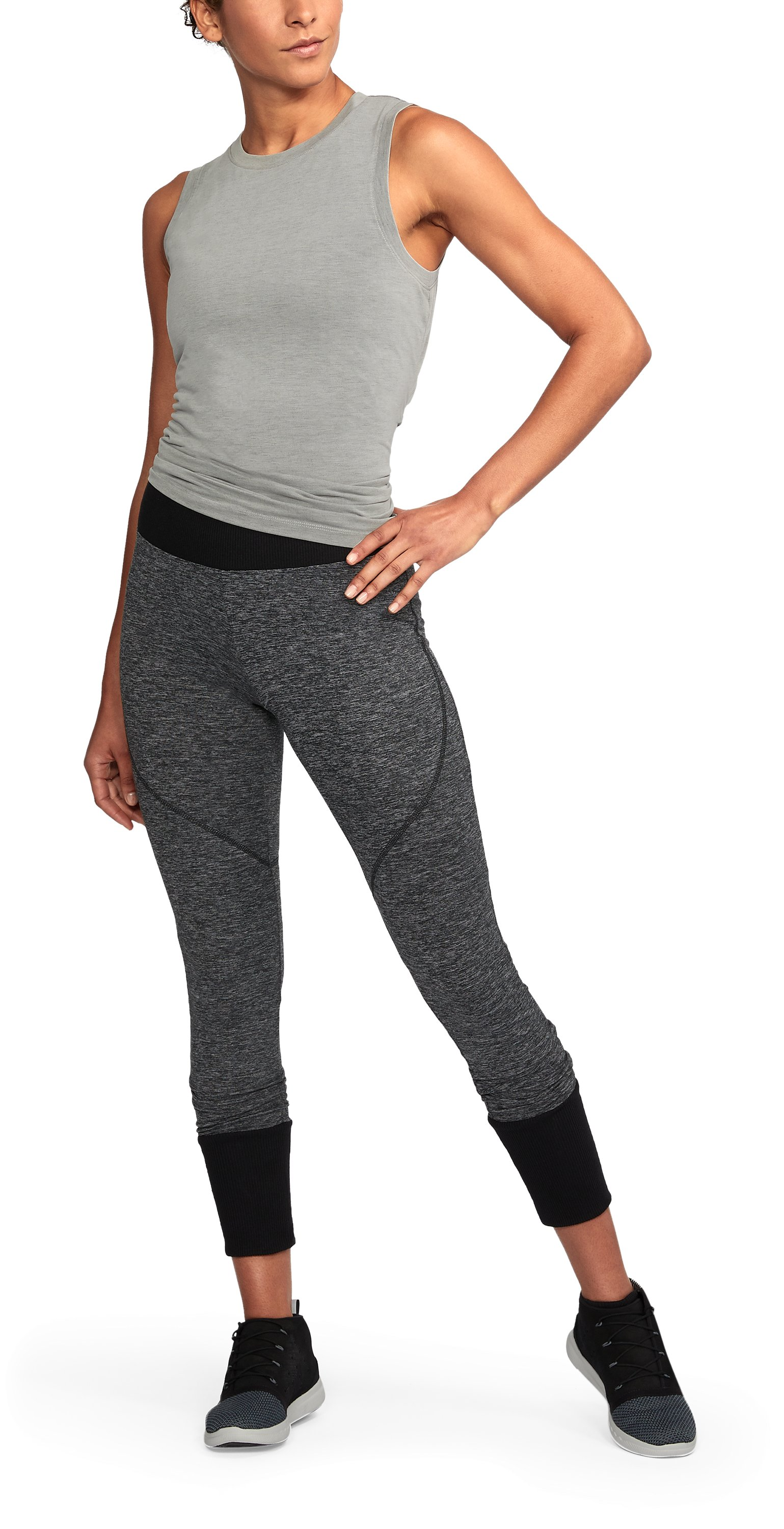 Women's UA Unstoppable To/From Leggings , Black , undefined