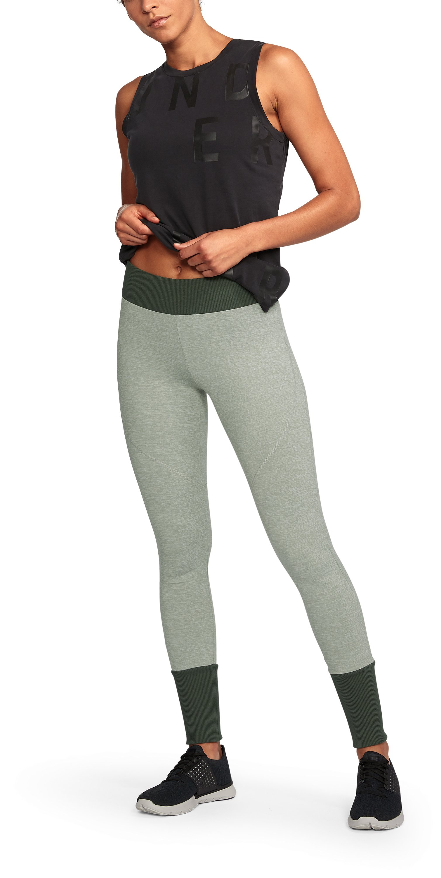Women's UA Unstoppable To/From Leggings , True Gray Heather,
