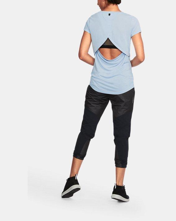 Women's UA Unstoppable Graphic T-Shirt, Blue, pdpMainDesktop image number 1