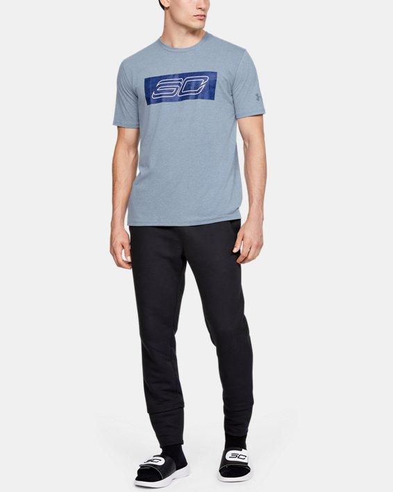 Men's SC30 Logo Short Sleeve T-Shirt, Gray, pdpMainDesktop image number 1