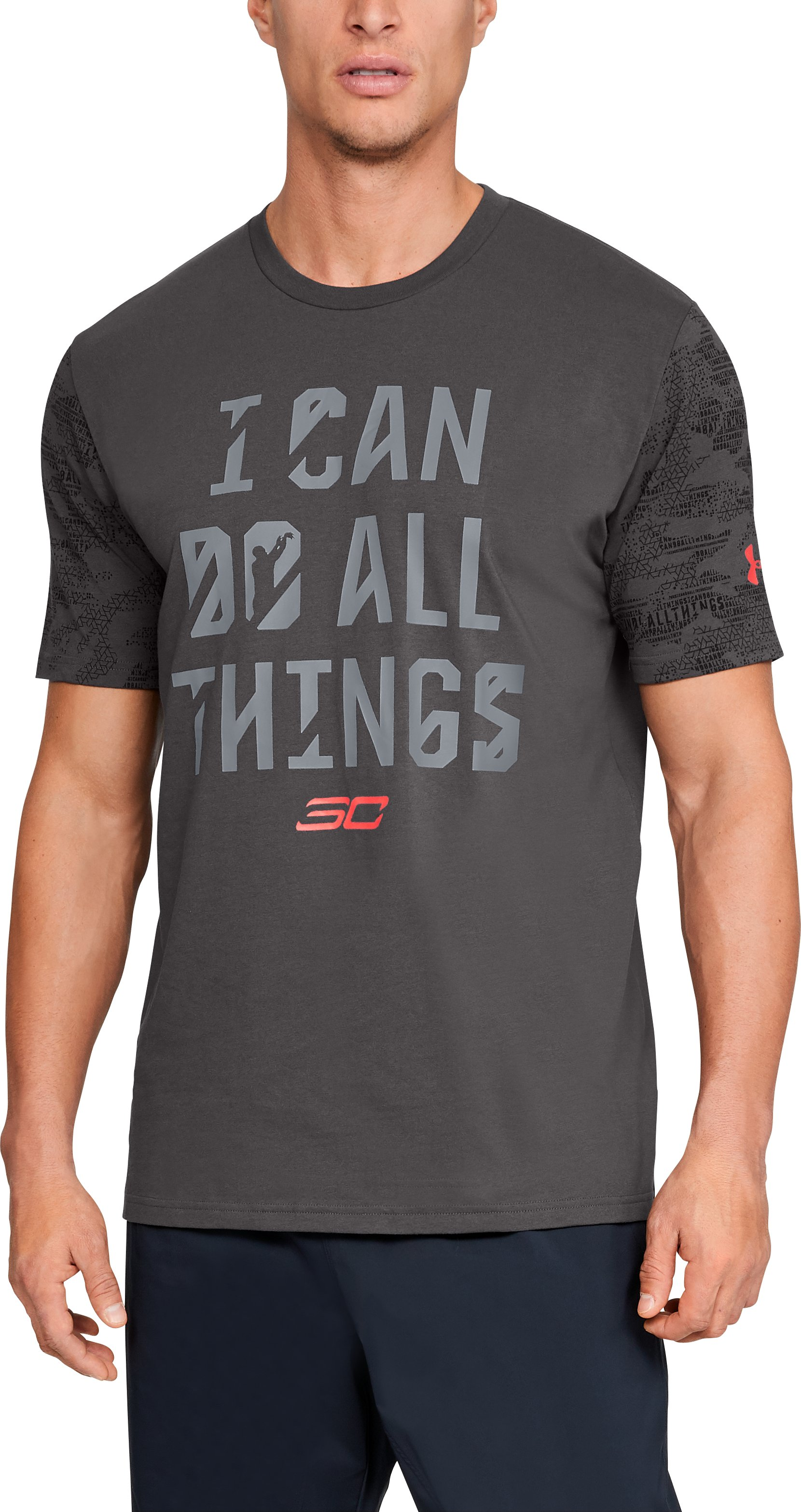 Men's SC30 I Can Do All Things Short Sleeve T-Shirt 1 Color $26.25