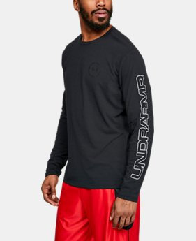 Men's UA More Than A Game Long Sleeve T-Shirt  1  Color Available $45
