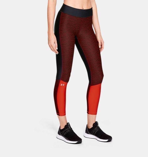 54ae974368649c Women's HeatGear® Armour Jacquard Ankle Crop | Under Armour US