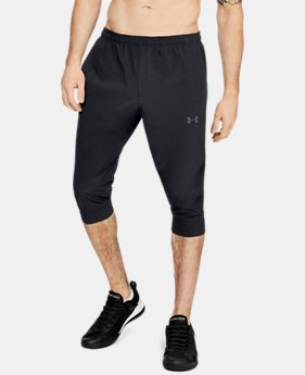 New Arrival Men's UA Accelerate Off Pitch Half Pants  1  Color Available $55