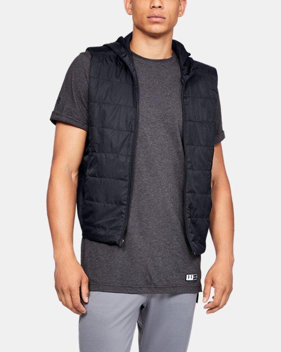 Men's UA Accelerate Transport Jacket, Black, pdpMainDesktop image number 6