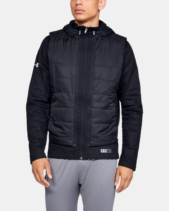 Men's UA Accelerate Transport Jacket, Black, pdpMainDesktop image number 0