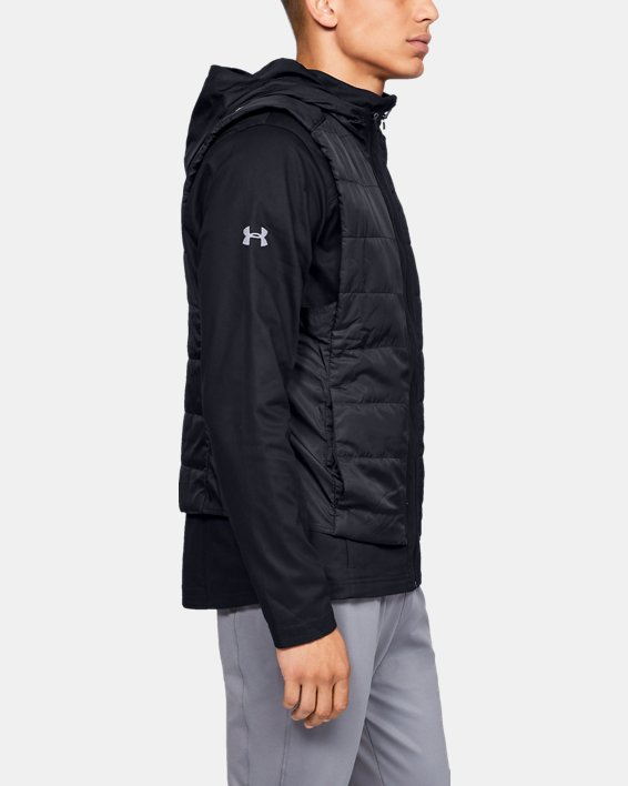 Men's UA Accelerate Transport Jacket, Black, pdpMainDesktop image number 3