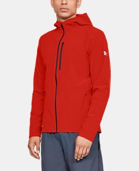 Men's UA Outrun The Storm Jacket  1  Color Available $100