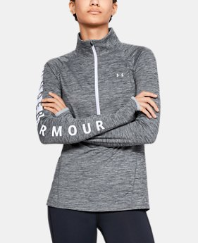 Women's ColdGear® Armour Graphic ½ Zip  1  Color Available $65