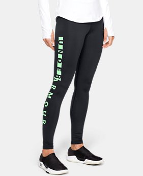 New Arrival Women's ColdGear® Armour WM Leggings  2  Colors Available $55