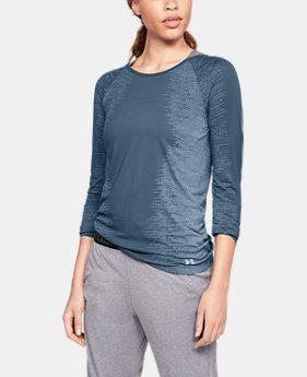 Women's UA Vanish Seamless Long Sleeve  1  Color Available $50