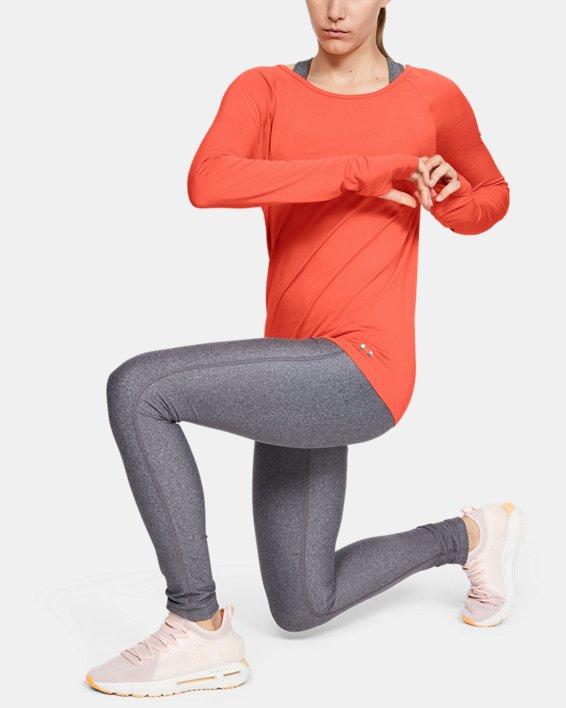 Women's UA Vanish Seamless Long Sleeve, Red, pdpMainDesktop image number 1
