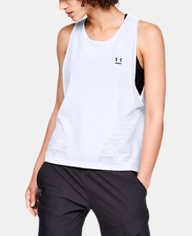 Women's UA Perpetual Woven Tank  1  Color Available $75