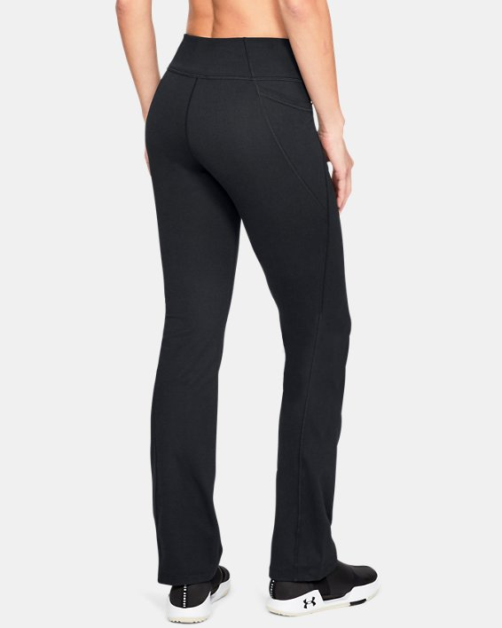 Women's UA All Around Modern Boot Pants, Black, pdpMainDesktop image number 2