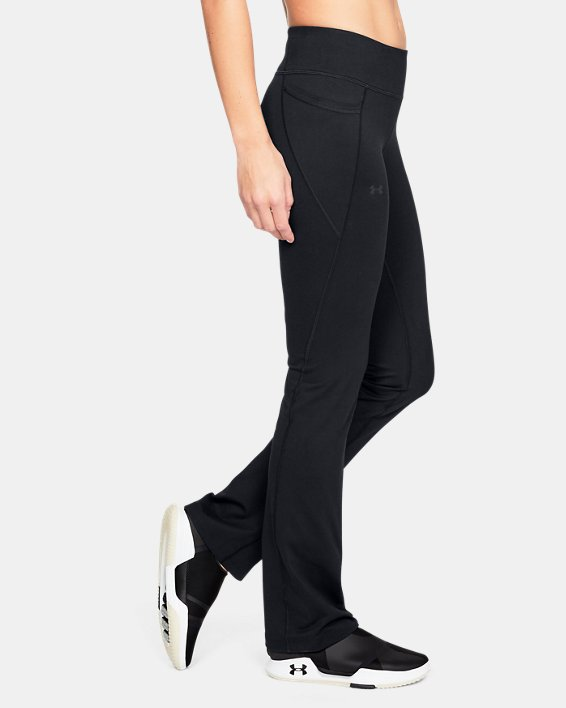 Women's UA All Around Modern Boot Pants, Black, pdpMainDesktop image number 3
